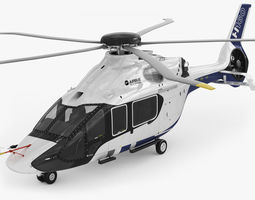 airbus helicopter h160 3d model max 3ds fbx c4d lwo lw lws hrc xsi