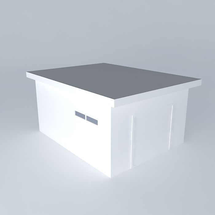 DECOCHALET 2015 Lardinois Gregory Garage Free 3D Model MAX