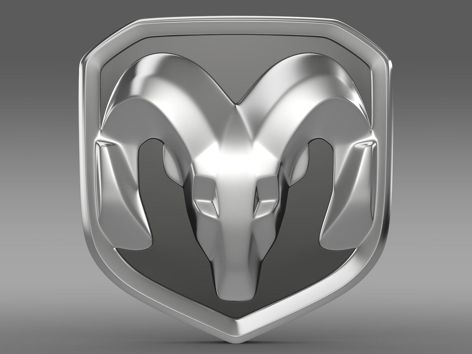 Dodge ram logo 3d model max obj 3ds fbx c4d lwo lw lws - Ram logo images ...
