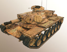 Tank M60A2 3D Model
