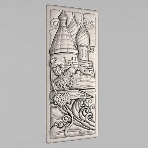 carved panels 3d model stl 1