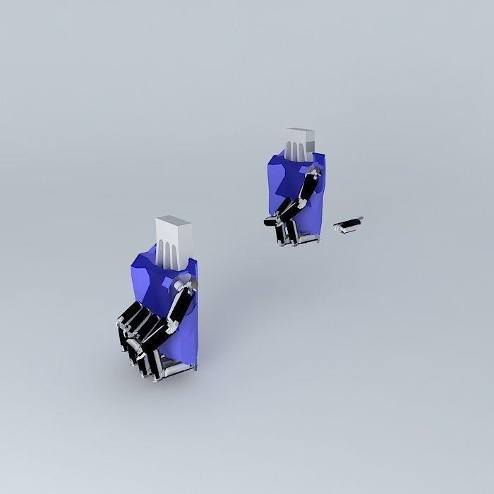Robot hand 2 3D model | CGTrader