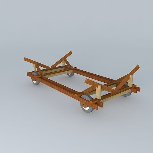 Carreta 39s Beach BR Boating 3D Model MAX OBJ 3DS FBX STL ...