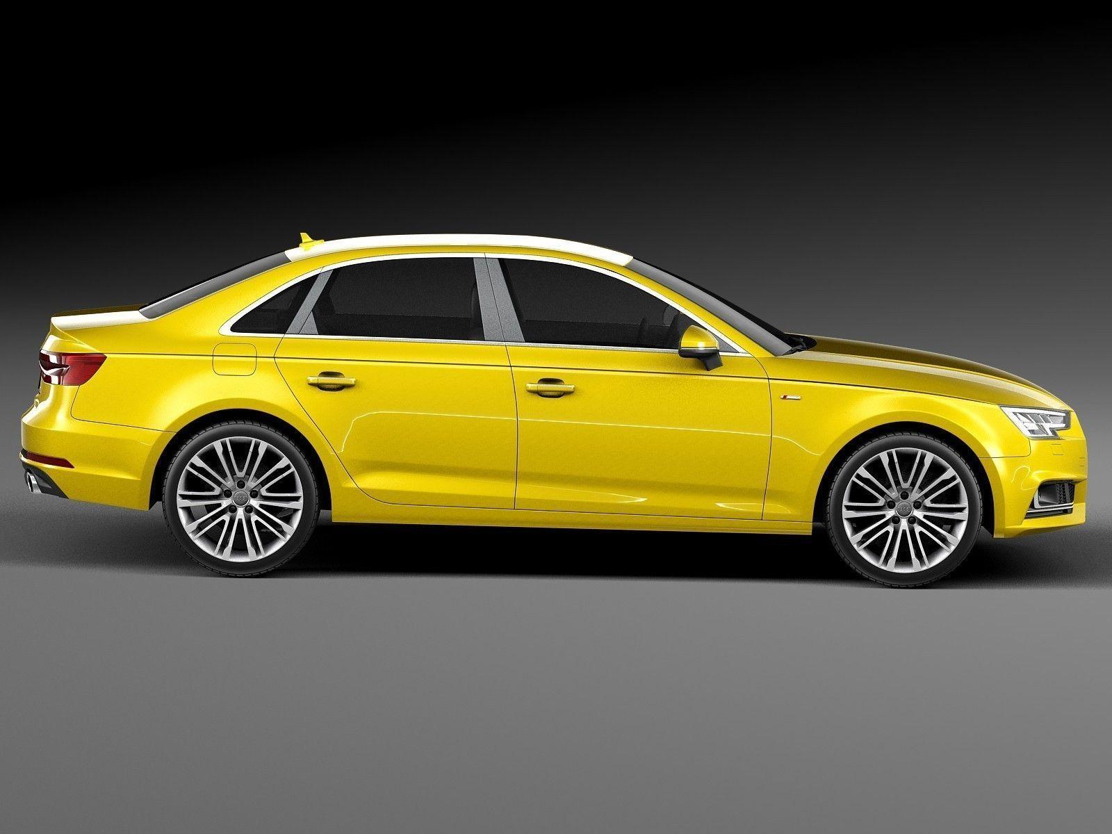 Audi A4 S-Line Sedan 2016 3D Model MAX OBJ 3DS FBX C4D LWO LW LWS | CGTrader.com
