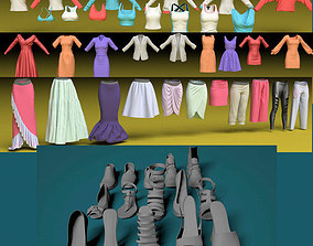 3D model Clothes female