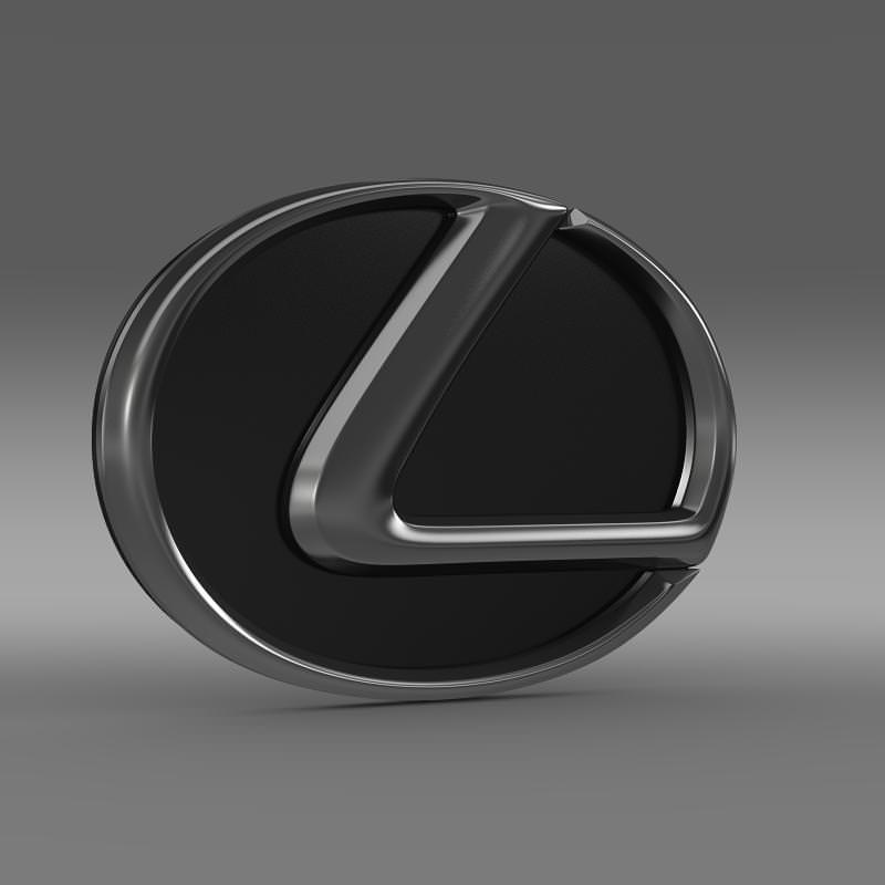 Lexus Motors Logo 3d Cgtrader