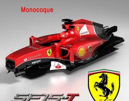 Ferrari SF15T monocoque 3D Model