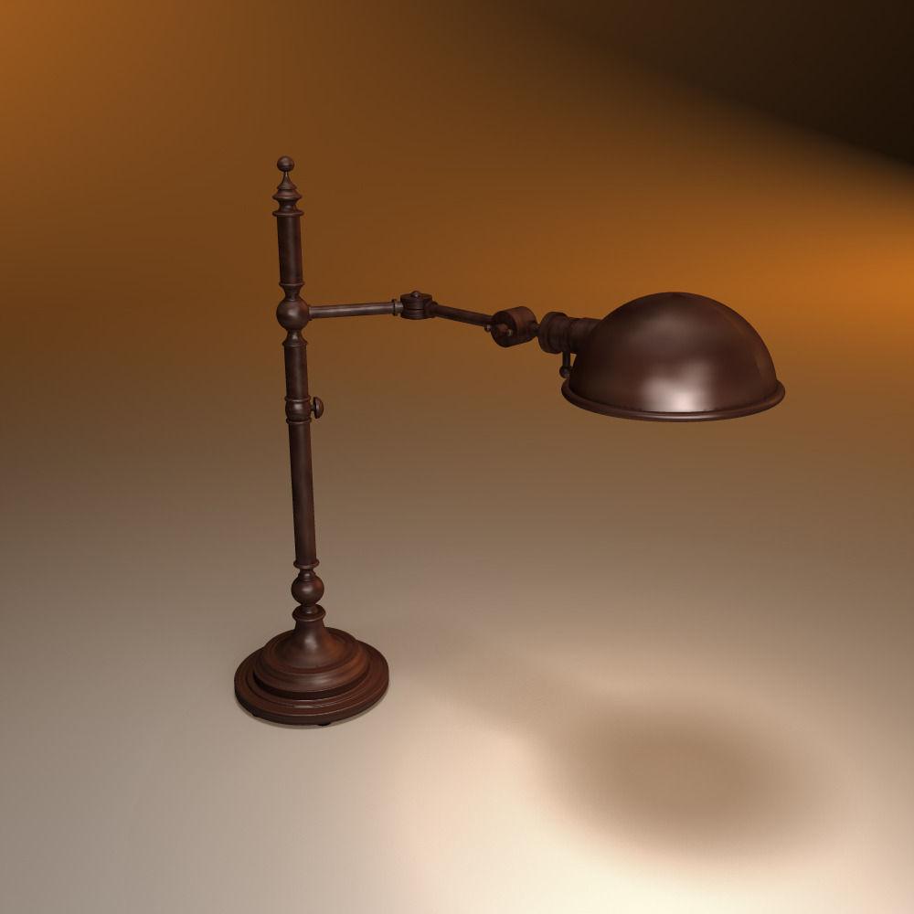 RESTORATION HARDWARE Franklin pharmacy table lamp