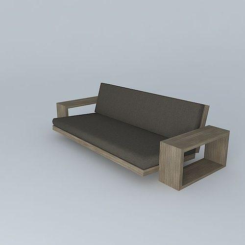 custom futon 2 3d model custom futon 2 3d   cgtrader  rh   cgtrader