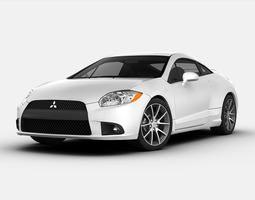 3D model Mitsubishi Eclipse GT 2012