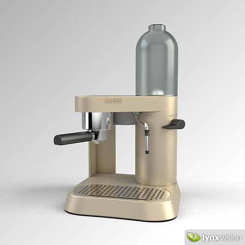 Cob N Coffee Maker 3d Model Max Obj Fbx Mtl