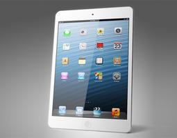 3D Apple iPad mini
