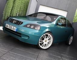 Opel Astra G 3D Model
