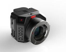 Blackmagic Micro Cinema Camera 3D Model