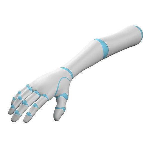 robot arm 3d model rigged max obj mtl fbx c4d ma mb hrc xsi 1
