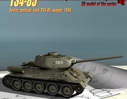 3D model T34-85