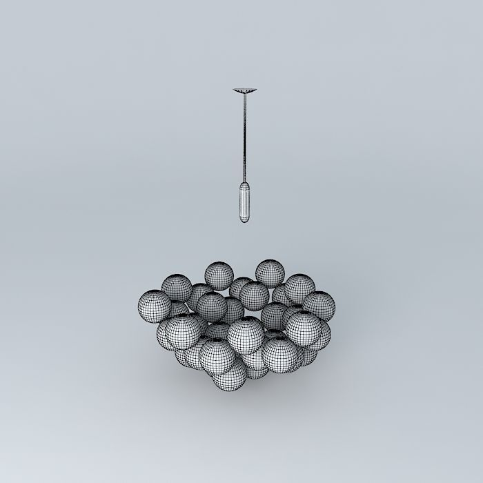 3d model glass ball cloud chandelier cgtrader glass ball cloud chandelier 3d model max obj 3ds fbx stl dae 5 mozeypictures Choice Image