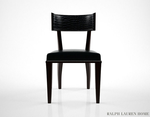 3d Model Ralph Lauren Clivedon Dining Chair Cgtrader