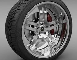 Savini Forged SV-1 Wheel 3D