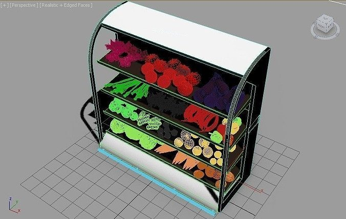 vegetable collection 3d model max obj mtl fbx ma mb 1