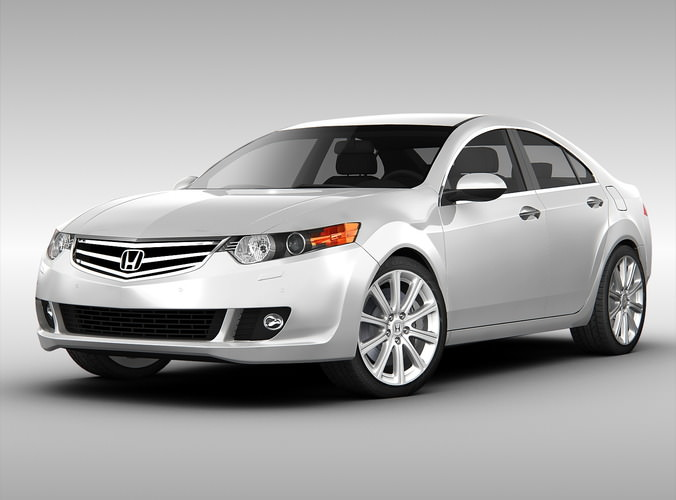 Honda Accord 2010 3d Cgtrader