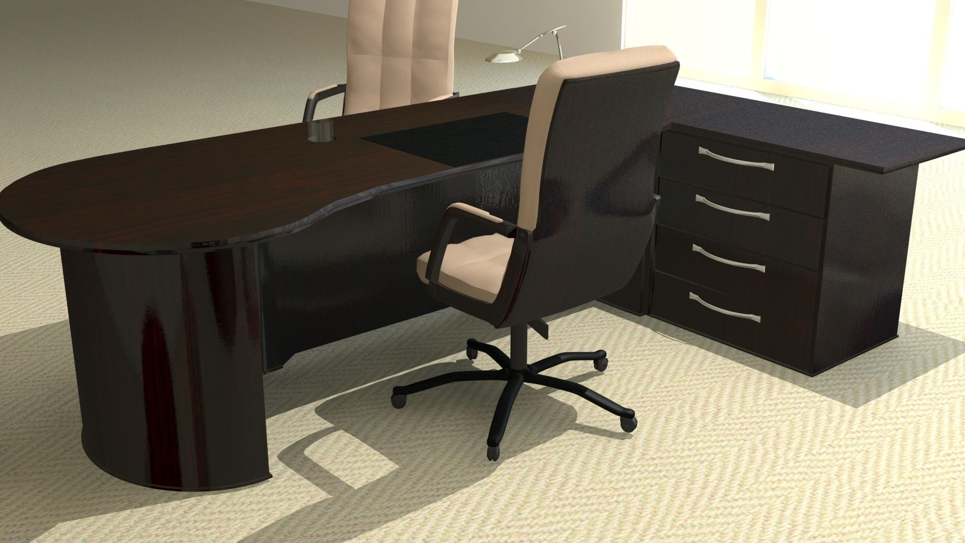 Free 3d Max Office Furniture Models