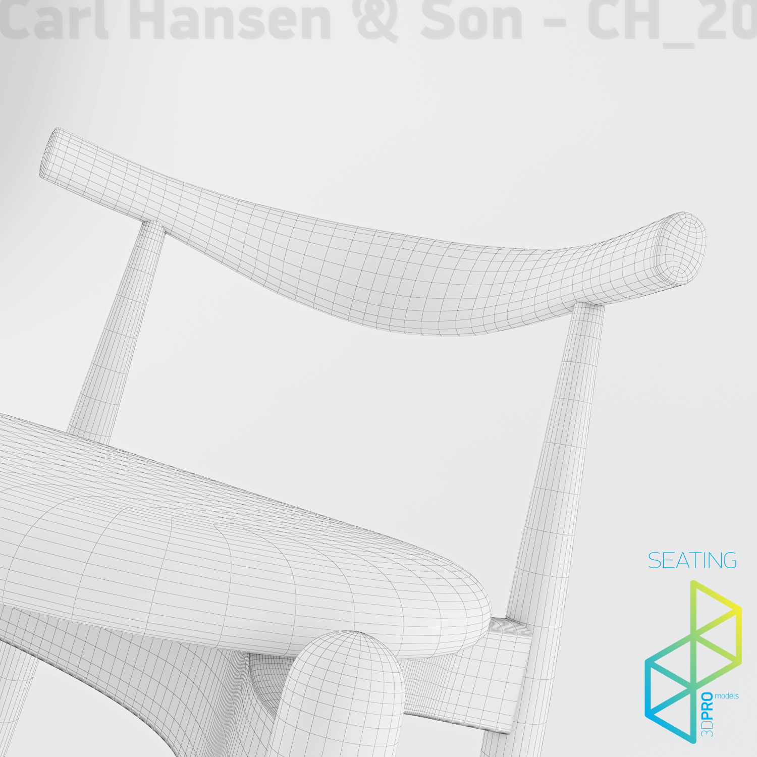 Carl Hansen Son CH20 Elbow chair 3D Model MAX OBJ 3DS  : carl hansen son ch20 elbow chair 3d model max obj 3ds from www.cgtrader.com size 1500 x 1500 jpeg 265kB