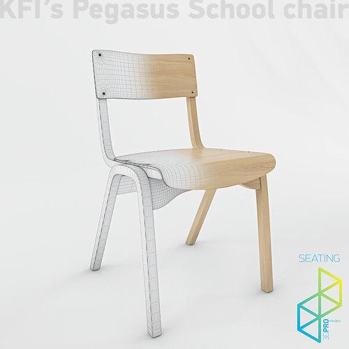 school chair. Brilliant Chair School Chair 3d Model Max Obj 3ds 1  On School Chair