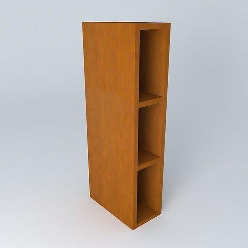 Kitchen Cabinet Models: Kitchen Shelf BRW 3D