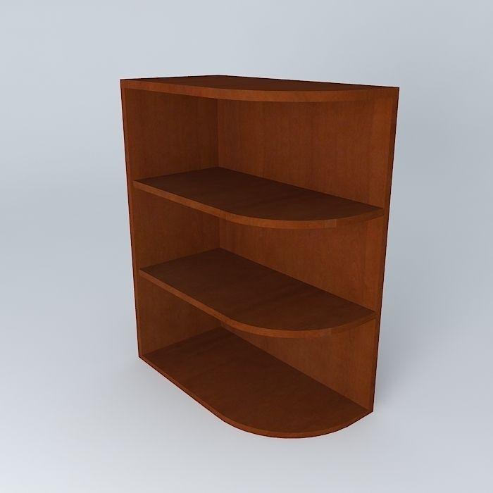 Model Kitchen Corner Shelf Cgtrader