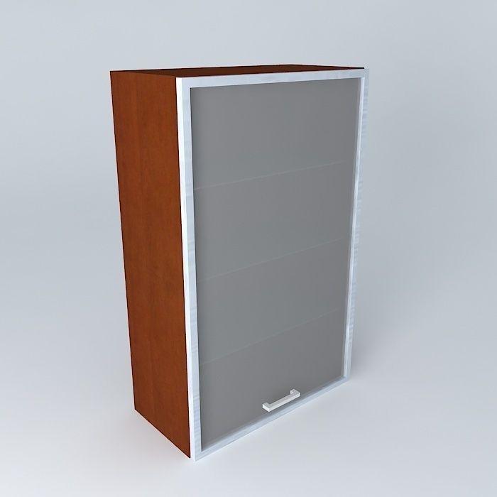 Kitchen cabinet 3d model max obj 3ds fbx stl dae for Kitchen cabinets models