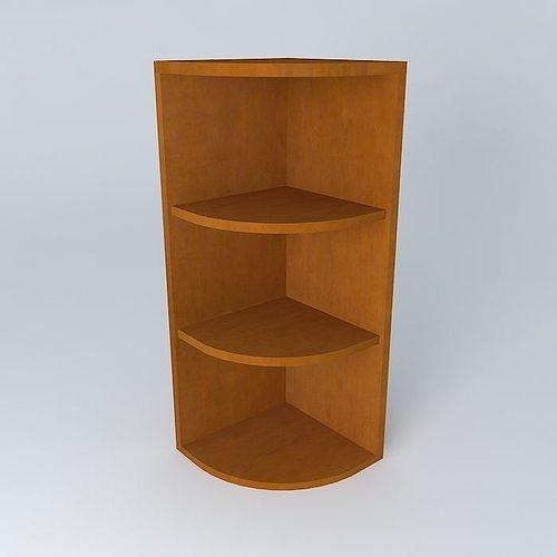 & Kitchen corner shelf 3D | CGTrader