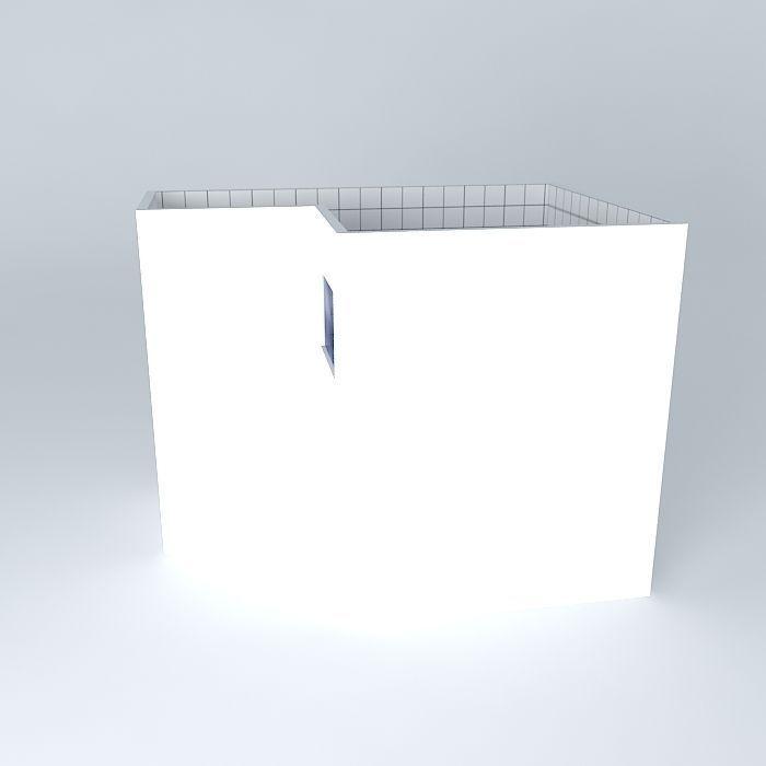 Bathroom Interior Free 3D Model MAX OBJ 3DS FBX STL DAE