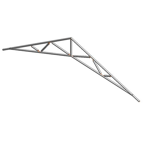 14 Common and Scissors Standard Trusses | 3D model