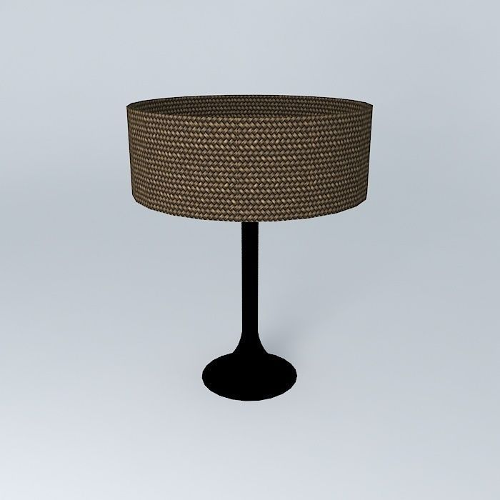 Table lamp free 3d model max obj 3ds fbx stl dae for Table lamp 3ds max tutorial