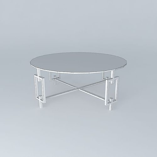coffee tablepearson mesa de centro pearson free 3d model max