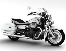 Moto Guzzi 1400 California Touring 2013 3D model