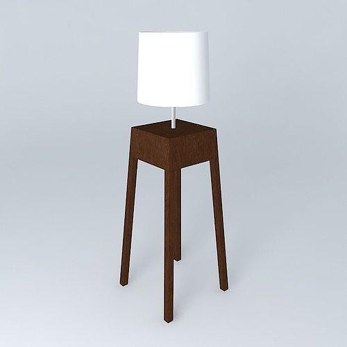Floor Lamp Floor Luminaire Roche Bobois 3d Model Max Obj 3ds Fbx Stl Dae 1  ...