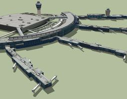 LaGuardia International Airport 3D
