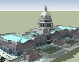 Capitol Hill The Capitol Building 3D