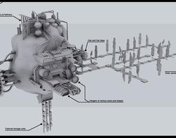 ssc mining outpost 3d
