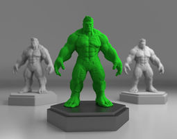 Hulk 3D print model