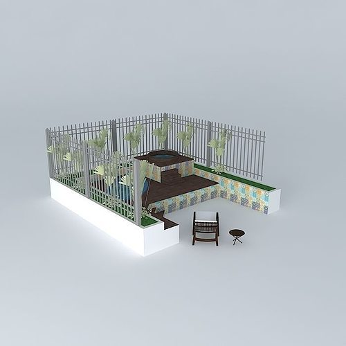 Marineteorkut Pool Piscina 3d Model Cgtrader