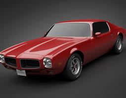 1970 Pontiac Firebird 3D Model