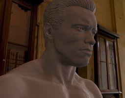 3d printable model Arnold Schwarzenegger  3D Model