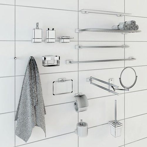Bathroom Accessories Model Max Fbx