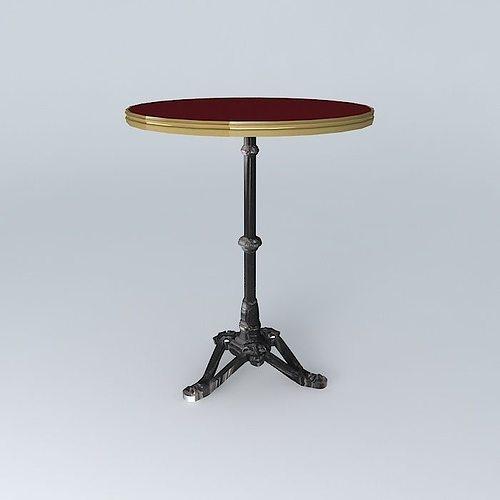 Bistro Table Ronde Ardamez Company 3d Model Max Obj Mtl 3ds Fbx Stl Dae 1  ...