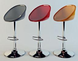 Bar stool kitchen 3D model
