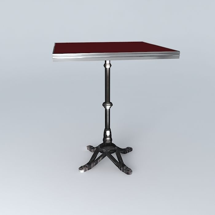 Bistro table square ardamez company 3d model fred bistro table square ardamez company 3d model max obj 3ds fbx stl dae 3 watchthetrailerfo
