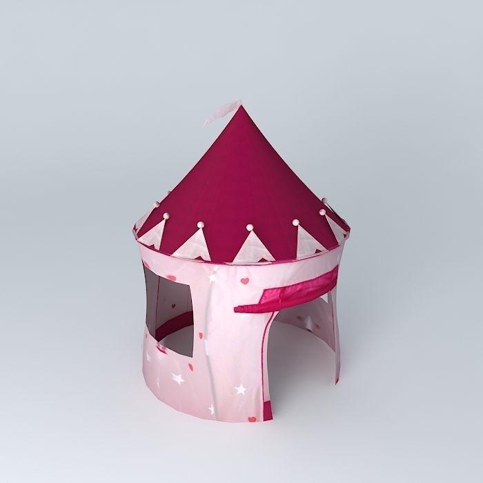 children tent princess castle houses the world 3d model max obj 3ds fbx stl dae 1 ... & Children Tent Princess castle houses the world 3D model MAX OBJ ...